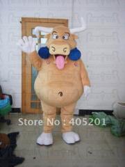 Funny bull mascot costumes cattle mascot costumes