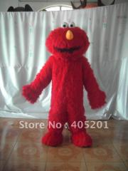 Elmo costume long fur mascot costume