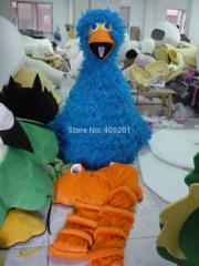 Best quliaty feather blue bird mascot costumes hot
