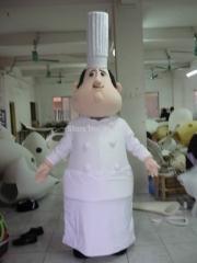 Popular cook mascot costumes hto sale chef