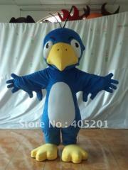 Blue bird costume bird mascot costume