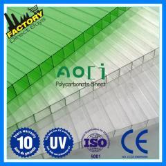 Polycarbonate transparent sheets