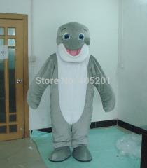 POLYFOAM high quality costume grey baby dolphin