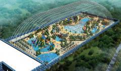 充气膜结构水上乐园