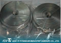 Chemical Cold Rolled Titanium Strip Coil / Foil