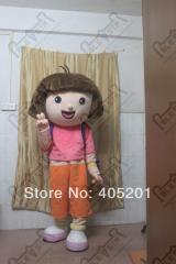 POLYFOAM HEAD cartoon mascot costumes dora mascot