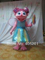 POLYFOAM high quality cartoon mascot costume abby
