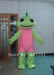 Blix mascot costume green angel costumes