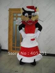 Colorfule cat mascot costumes popular custom