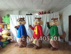 Shippy chipmunk mascot costumes