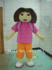 Light dora mascot costume dora the exlorer