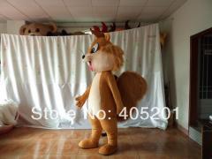 POLYFOAM high quality costume big tail squirrel