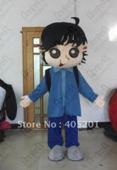 Clever school boy mascot costumes