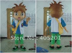 Vivid diego mascot costume dora's