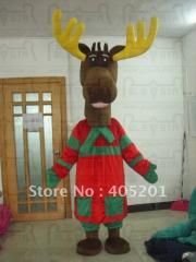 Quality Christmas deer mascot costumes hot sale