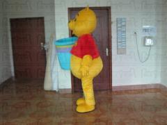 Bear mascot costumes winnie costumes free shipping