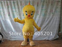 Tweety mascot costume cartoon chick costumes
