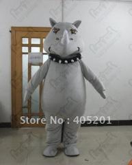 Grey rhinoceros mascot costumes