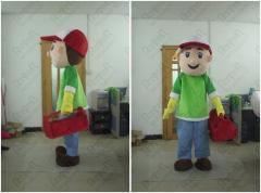 Foam head handy manny mascot costumes tool boy