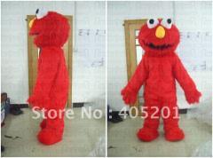 Long fur elmo mascot costumes
