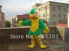Color eagle mascot costume bird costumes long fur