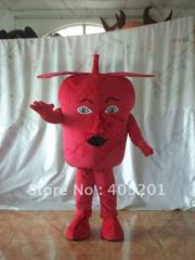 Red apple mascot costumes fruit costumes