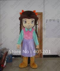 Little girl costumes party mascot costumes