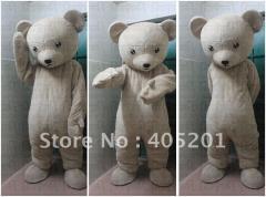 Soft fur teddy bear mascot costumes quality teddy