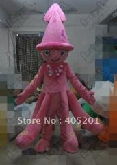 Octopus mascot costumes cuttlefish costumes blue