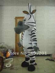 Character zebra mascot costumes  marty mascot