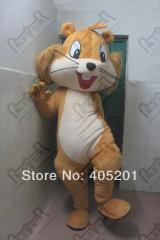 POLYFOAM high quality cartoon mascot costume happy