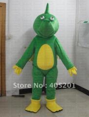 Quality green dragon mascot costumes