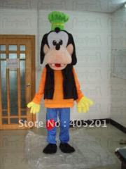 Goofy dog costume cartoon mascot costume