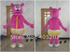 Pink gummy bear mascot costume bear costumes