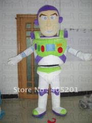 Slim buzz mascot costume toy stoy mascot costume