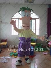 Character ferb mascot costumes