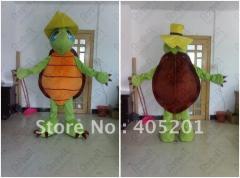 Foam head with fan turtle mascot costumes tortoise