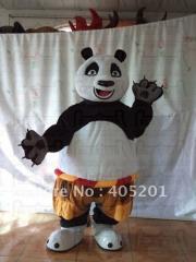 Soft fur kung fu panda mascot costumes