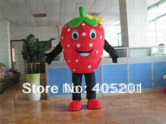 Free shipping strawberry mascot costumes