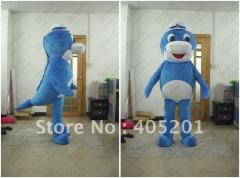 Cute blue dolphin costumes baby dolphin costumes