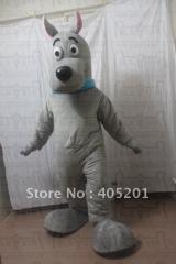 Custom grey scooby doo mascot costumes dog mascot