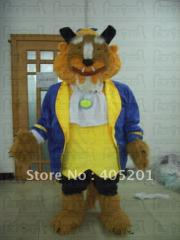 The beast mascot costumes character cosplay