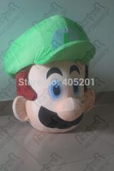 Cartoon luigi costume green mario mascot costumes