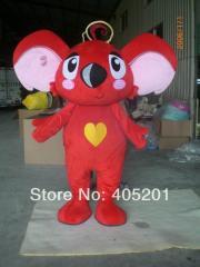 POLYFOAM high quality cartoon mascot costume red