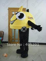 Custom car mascot costume polyfoam build (logo not