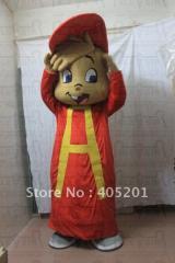 Character alvin mascot costumes chipmunk mascot