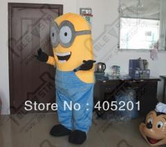 2014 hot sale high quality minion costume/cartoon