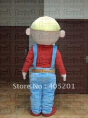 Bob the builder costume  man mascot costume
