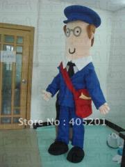 Post man pat mascot costumes cosplay postman
