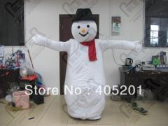2014 high quality snow man mascot costumes